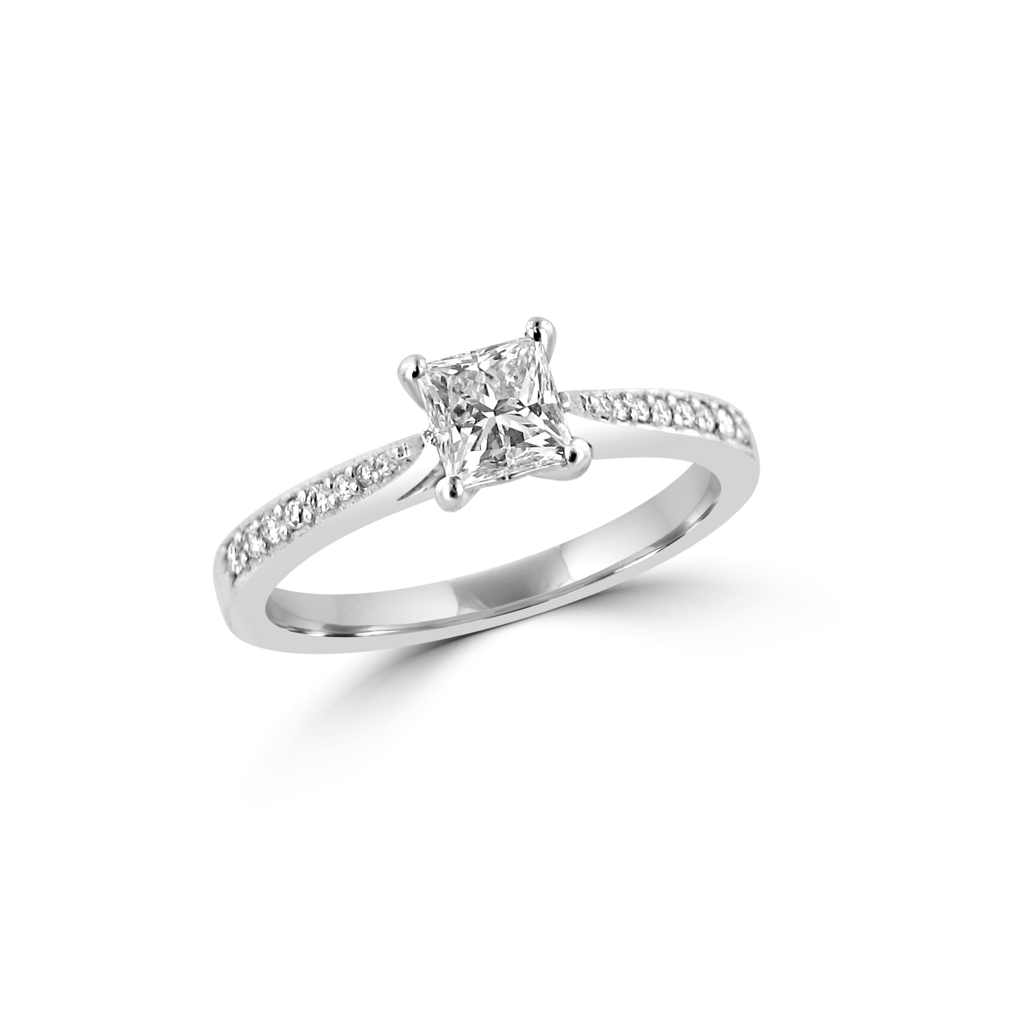 engagement cut rubover platinum fetheray solitaire rings ring and diamond hand handmade products