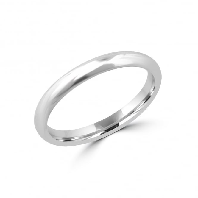 Platinum 2.5mm Court Wedding Ring RPW27167