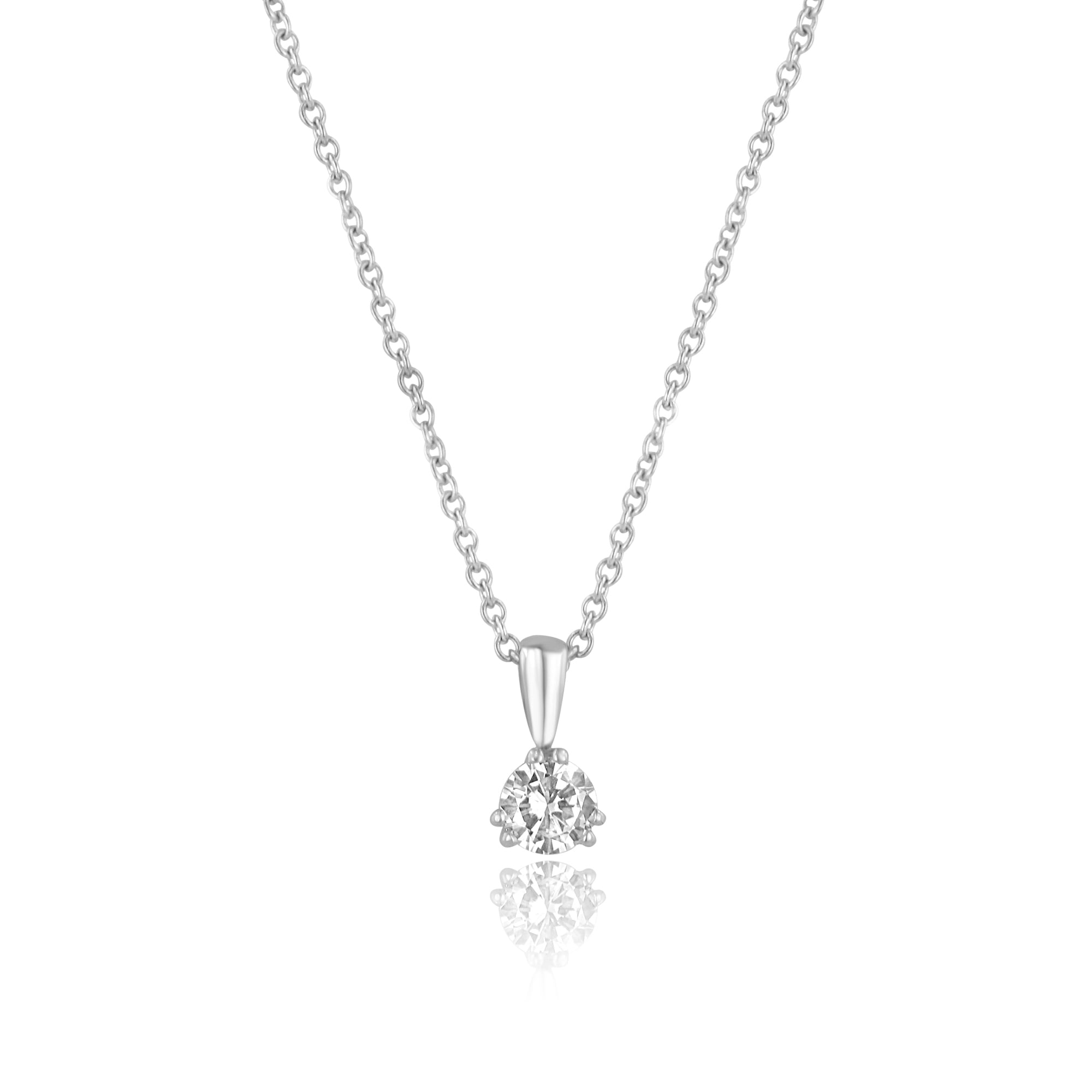 degem solitaire encordia forevermark necklace pave pendant diamond