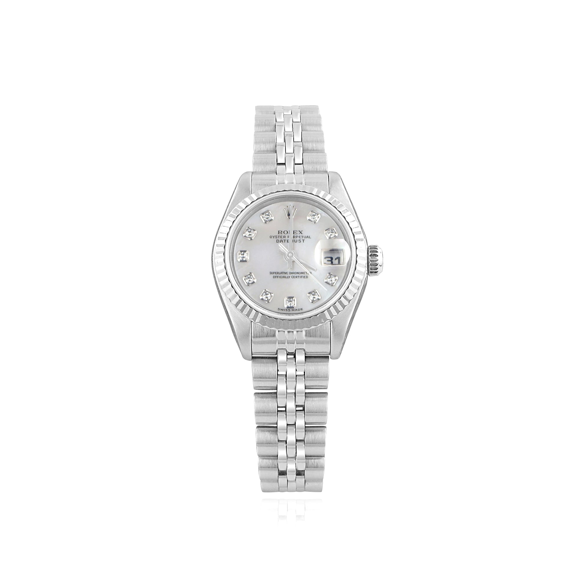 Rolex Pre Owned Pre Owned Womens Rolex Oyster Perpetual