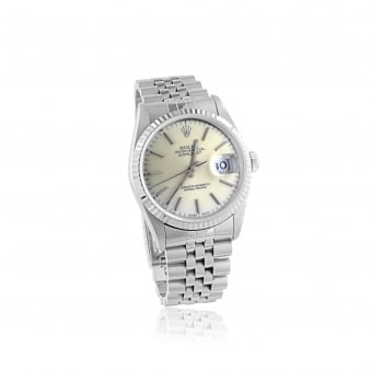 1995 Men's Steel Rolex Datejust Watch
