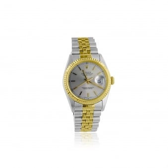 Men's Steel and Gold Rolex Oyster Perpetual Datejust Watch