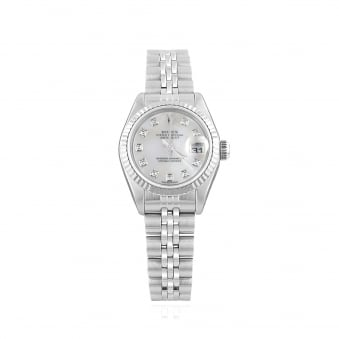 Pre-owned Womens Rolex Oyster Perpetual DateJust Watch