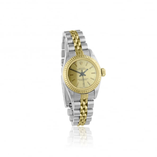 Rolex (Pre-owned) Women's 1996 Steel and Gold Rolex Watch