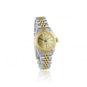 Women's 1996 Steel and Gold Rolex Watch