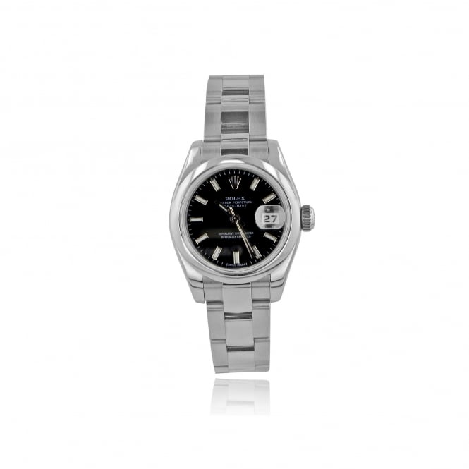 Rolex (Pre-owned) Womens Oyster Perpetual DateJust Rolex Watch in Steel