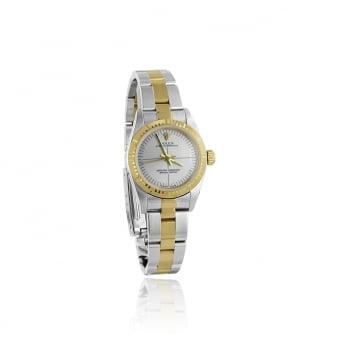 Women's Steel and 18ct Gold Rolex Watch (non date)