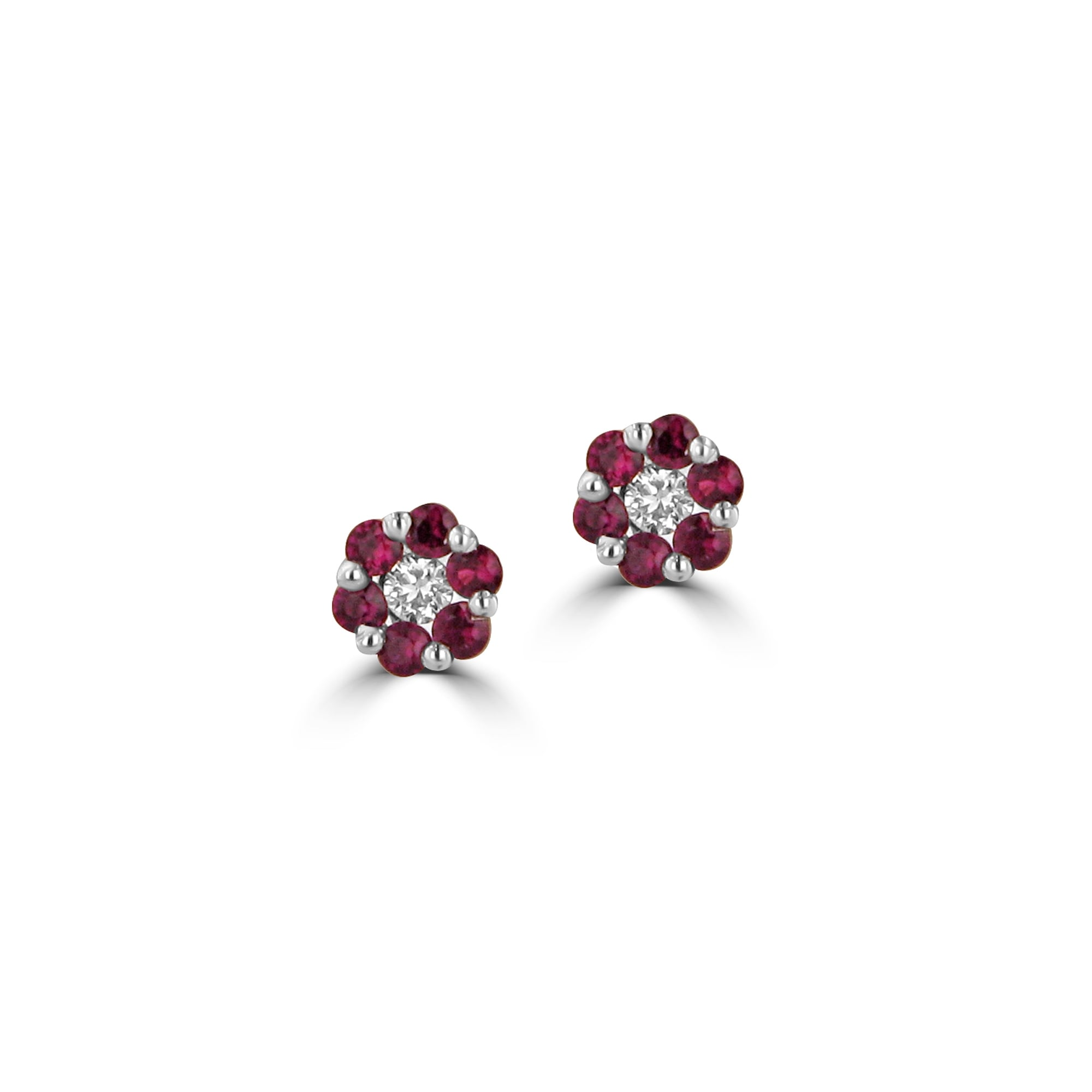 set pairs product barzel studs jewelry ruth design stud and ruby