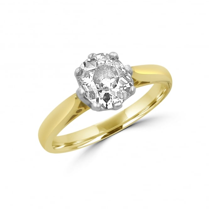 SOLD 1.10ct Old Cut Diamond Solitaire Ring RYD35378
