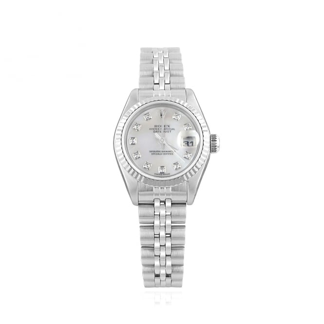 Rolex SOLD Pre-owned Womens Oyster Perpetual DateJust Watch