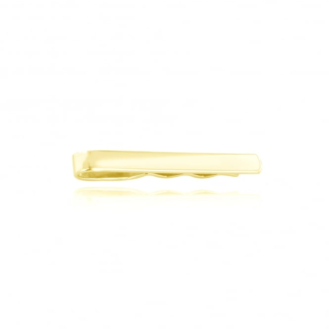 Traditional 9ct Gold Tie Slide AY3645