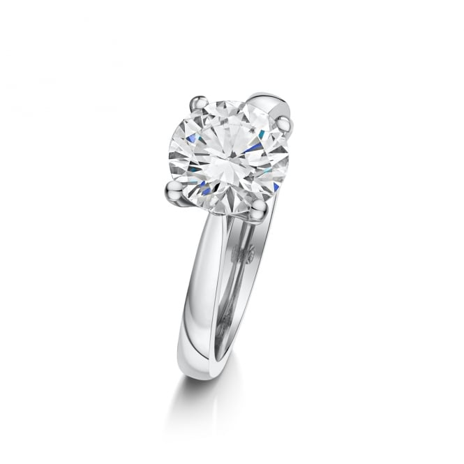 Two Carat Round Diamond Solitaire Ring RPN36519