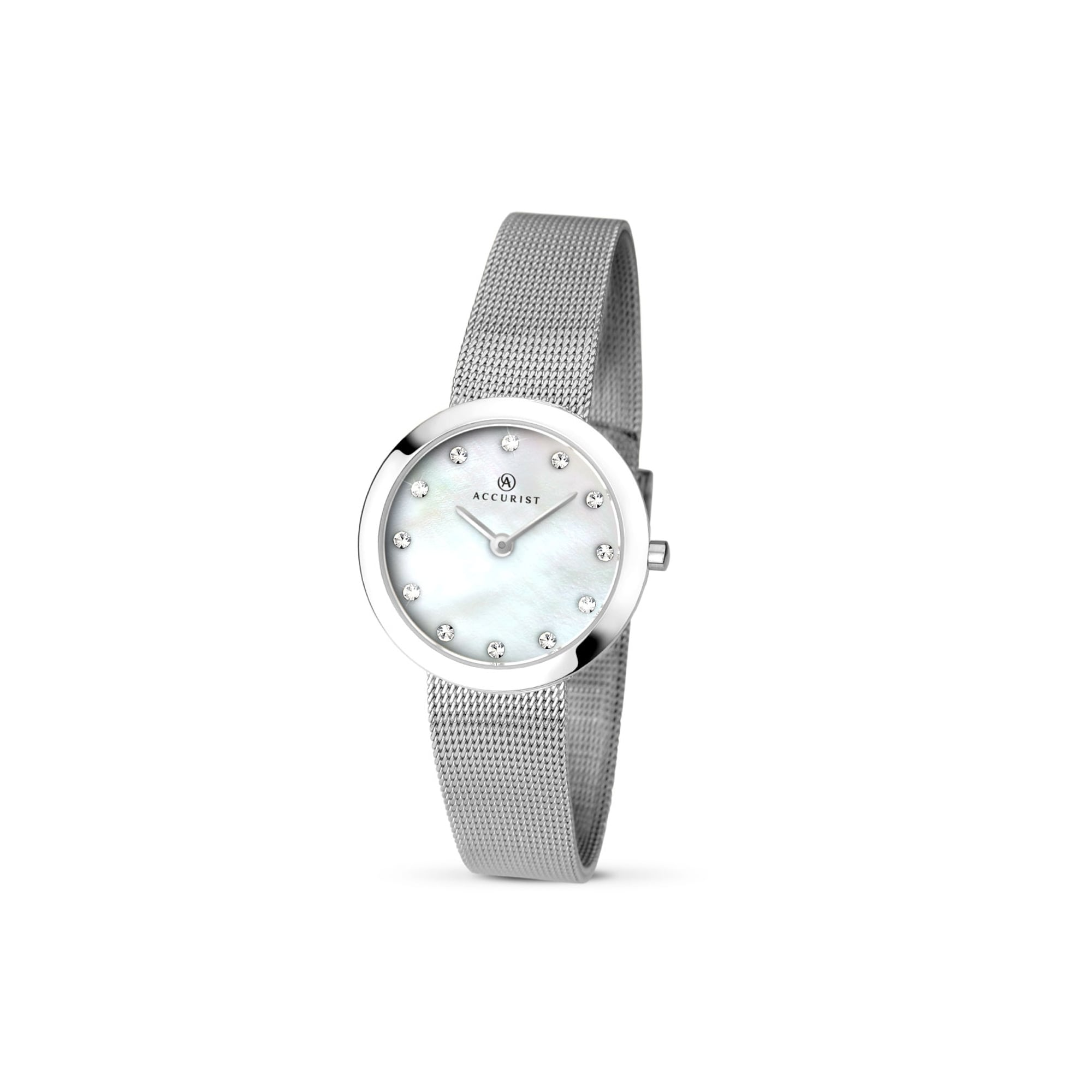 watches men mesh walteri watch for silver products steel metal oceaner