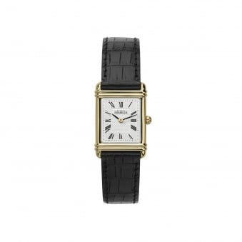 Womens Michel Herbelin Deco Inspired Watch With Leather Strap 17478/P08