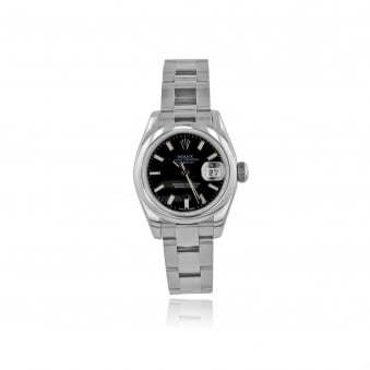 Womens Oyster Perpetual DateJust Rolex Watch in Steel