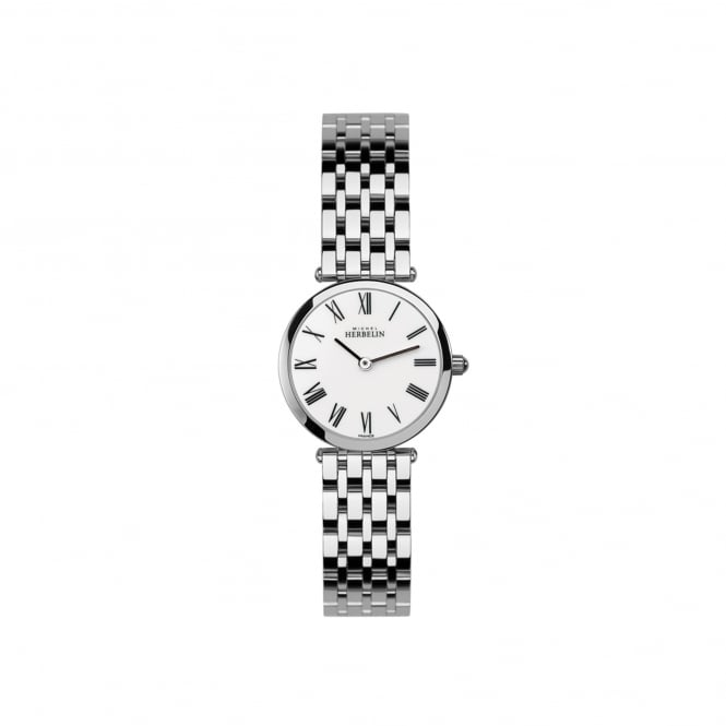 Michel Herbelin Womens Slim Steel Watch 1045/B01